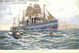 shi020109 - Artist H Kircher Sail Boat, Boats, Postcard Postcards