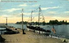 shi020113 - Yacht Romona, Frontenac, Thousand Islands Sail Boat, Boats, Postcard Postcards