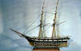 shi020125 - Model Brig Truxton, Philadelphia, USA Sail Boat, Boats, Postcard Postcards
