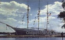 shi020138 - The Schooner Sail Boats, Sailing, Ship Postcard Postcards