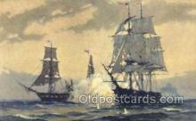 shi020147 - USF Constitution 1815 Sail Boats, Sailing, Ship Postcard Postcards