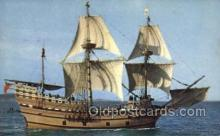 shi020149 - Mayflower II Sail Boats, Sailing, Ship Postcard Postcards