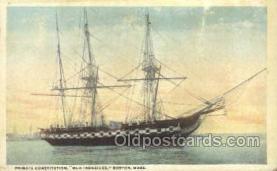 shi020151 - Old Ironsides, Boston Mass USA Sail Boats, Sailing, Ship Postcard Postcards