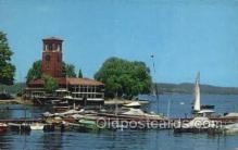 shi020180 - Miller Bell Tower Sail Boats, Sailing, Ship Postcard Postcards