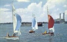 shi020187 - National Merlin Rocket Sail Boats, Sailing, Ship Postcard Postcards