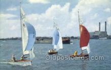 shi020188 - National Merlin Rocket Sail Boats, Sailing, Ship Postcard Postcards