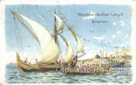shi020195 - Norddeutscher Lloyd, Bosporus Tschekderme  Sail Boats, Sailing, Ship Postcard Postcards