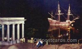 shi020205 - Mayflower II Sail Boats, Sailing, Ship Postcard Postcards