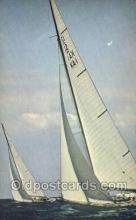 shi020210 - Americas Cup Of Yachts Off Newport RI Sail Boats, Sailing, Ship Postcard Postcards