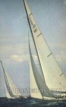shi020211 - Americas Cup Of Yachts Off Newport RI Sail Boats, Sailing, Ship Postcard Postcards