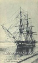 shi020215 - US Frigate Constitution, Old Ironsides Sail Boats, Sailing, Ship Postcard Postcards