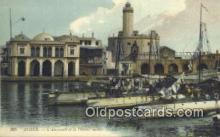 shi020263 - Alger, L'amiraute Et La Defense Mobile Sail Boat Postcard Post Card