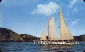 shi020291 - Barca DE Oro, Acapulco, Mexico  Sail Boat Postcard Post Card