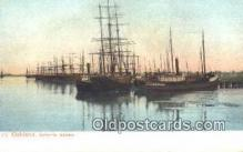 shi020309 - Estuary, Oakland, California, CA USA Sail Boat Postcard Post Card
