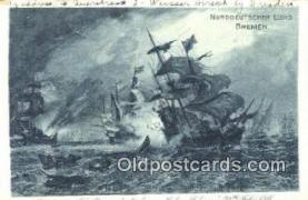 shi020320 - Norddeutscher Lloyd Bremen Sail Boat Postcard Post Card