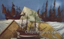 shi020365 - Models Of Great Sailing Ships, Victoria, British Columbia, BC  Sail Boat Postcard Post Card