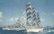 shi020374 - The Christian Radich Windjammer Sail Boat Postcard Post Card