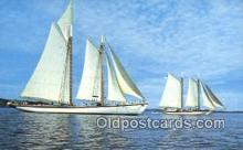 shi020381 - Windjammers, Adventure And Stephen Tabor Sail Boat Postcard Post Card