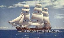 shi020425 - The Bounty Sail Boat Postcard Post Card
