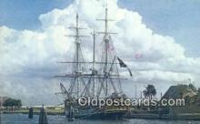 shi020442 - MGM's Replica OF The H.M.S. Bounty, St Petersburg, Florida, FL USA Sail Boat Postcard Post Card