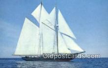 shi020457 - The Bluenose II, Lunenburg, Nova Scotia Sail Boat Postcard Post Card