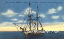 shi020459 - Oliver Perrys Flagship The USS Niagara, Erie, Pennsylvania, PA USA Sail Boat Postcard Post Card