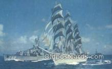 shi020482 - The Windjammer, New York, NY USA Sail Boat Postcard Post Card