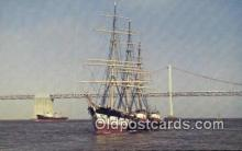 shi020483 - The Balclutha, Cape Horn, San Francisco, California, CA USA Sail Boat Postcard Post Card