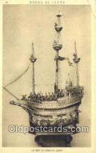shi020497 - La Nef De Charles Quint Sail Boat Postcard Post Card