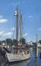 shi020528 - The Bowdoin, Camden, Maine, ME USA Sail Boat Postcard Post Card