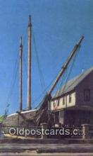 shi020553 - Booth Tarkington Schooner, Kennebunkport, Maine, ME USA Sail Boat Postcard Post Card