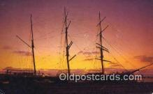 shi020585 - Harbor Of The Sun, Star Of India, San Diego, California, CA USA Sail Boat Postcard Post Card