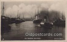 shi020610 - The Barbour, Aberdeen Sail Boat Postcard Post Card