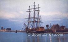 shi020650 - The Bounty Sail Boat Postcard Post Card