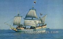 shi020677 - God Speed, Hampton Roads Sail Boat Postcard Post Card