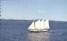 shi020701 - Victory Chimes, Maine, ME USA Sail Boat Postcard Post Card