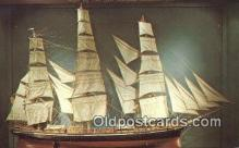 shi020735 - The Flying Cloud, Clipper Ship, Boston, Massachusetts, MA USA Sail Boat Postcard Post Card