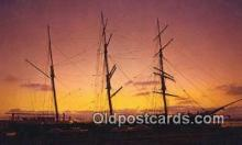 shi020748 - Harbor Of The Sun, Star Of India, San Diego, California, CA USA Sail Boat Postcard Post Card