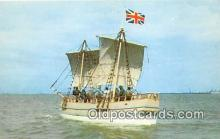shi020766 - Discovery II Jamestown May 13, 1607 Ship Postcard Post Card