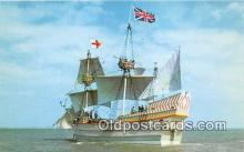 shi020767 - Susan Constant II Jamestown May 13, 1607 Ship Postcard Post Card