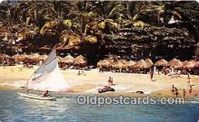 shi020779 - Playa Condesa, Condesa Beach Acapulco, Gro Mexico Ship Postcard Post Card