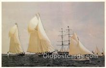 shi020794 - Whaling Museum New Bedford, Mass Ship Postcard Post Card