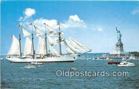 shi020804 - Dick Geiselman Inc  Folder card from 1977 Ship Postcard Post Card