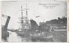shi020805 - Perry's Flagship Niagara 1813-1913 Ship Postcard Post Card