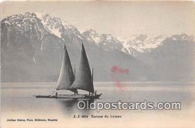 shi020810 - Barque Du Leman 1911 Ship Postcard Post Card
