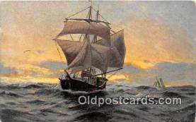 shi020811 - Ship Postcard Post Card