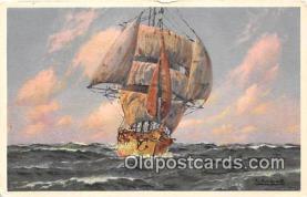 shi020812 - Ship Postcard Post Card
