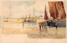 shi020819 - La Panne  Ship Postcard Post Card