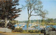shi020827 - Harbor View Connecticut Shore Ship Postcard Post Card