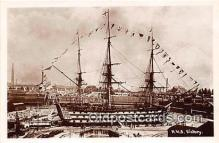 shi020832 - HMS Victory  Ship Postcard Post Card
